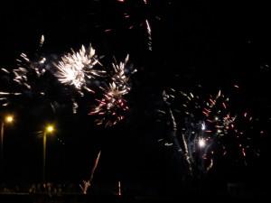 July 14 Fireworks display, Granville