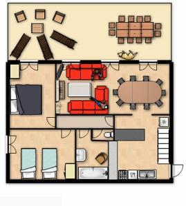 Ground Floor Plan, Maison Miellles