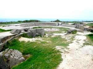 Point du Hoc - German gun emplacements