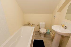 Upstairs family bathroom, Maison Mielles