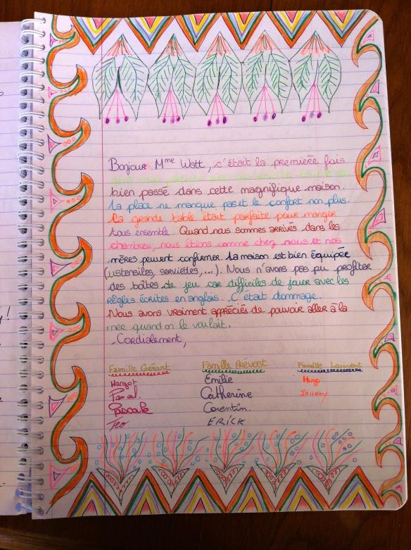 Guest Book Maison Mielles Page 11