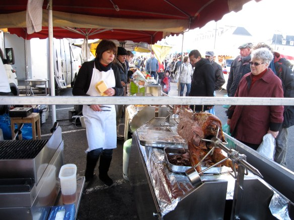 Le Cochon Charnu, Sunday Market, Caen