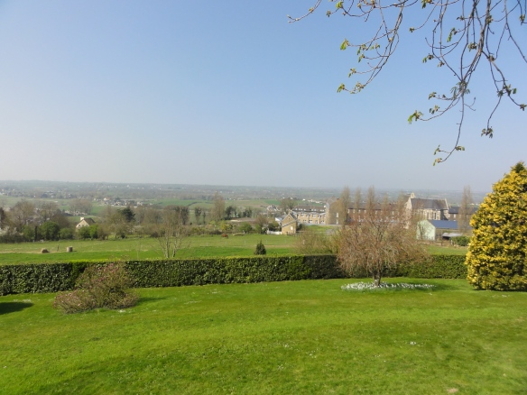View from the Jardin des Plantes, Avranches